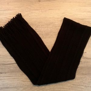 New York & Company Winter Scarf, Black, OS